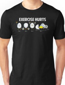 Exercise Hurts | Funny Workout Unisex T-Shirt