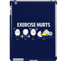 Exercise Hurts | Funny Workout iPad Case/Skin