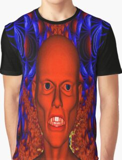 Red Ghoul Graphic T-Shirt