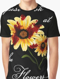 Look at the Flowers Graphic T-Shirt