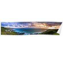Woolacombe Bay - Panoramic  Poster