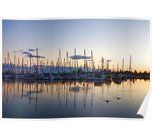 Yachts and Sailboats - Lake Ontario Impressions Poster