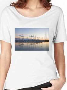 Yachts and Sailboats - Lake Ontario Impressions Women's Relaxed Fit T-Shirt