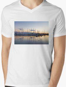 Yachts and Sailboats - Lake Ontario Impressions Mens V-Neck T-Shirt