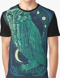 Owl Nouveau 2 Graphic T-Shirt