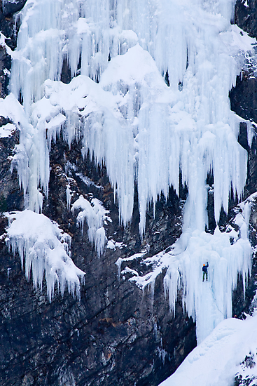 Ice Climber by Walter Quirtmair