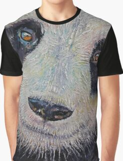 Panda Portrait Graphic T-Shirt
