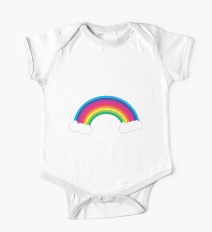 Rainbow and Clouds Kids Clothes