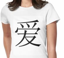 Chinese Love Womens Fitted T-Shirt
