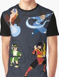 Minimalist Bending  Graphic T-Shirt