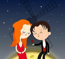 Satine and Christian - Moulin Rouge movie by mruburu
