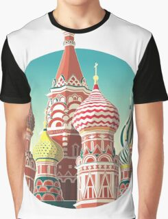 Saint Basil's Cathedral Graphic T-Shirt