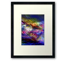 Electric Color Framed Print