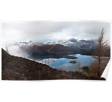 Derwent Water from Walla Crag Poster