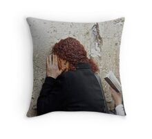 Jerusalem . Featurted in Religions of the World Group. Favorites: : 4 Views: 465 .  Toda raba  zeh hachever sheli ! Throw Pillow