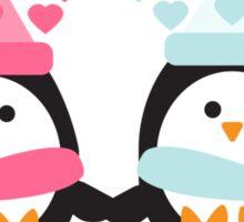 Penguin Love Sticker