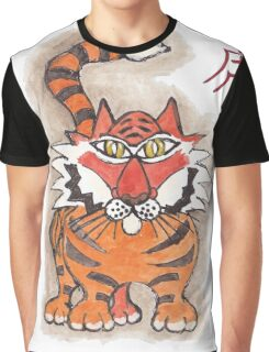 Chinese tiger Graphic T-Shirt