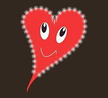 Smiling heart Unisex T-Shirt