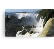 "Iguazu, Or, ""Poor Niagara"" Canvas Print"