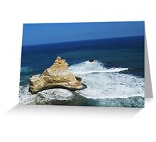Where Desert Meets Ocean Greeting Card
