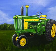 Grampa's Tractor by EWebber