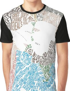 The Fault in Our Stars Movie Poster Typography Graphic T-Shirt