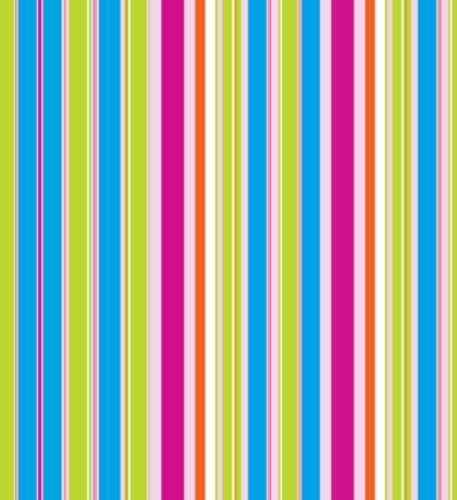 Modern Colourful Striped Background Sticker