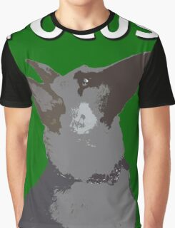 German Shepherd Focus Graphic T-Shirt