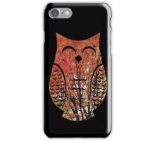 Happy Autumn Tree Owl iPhone Case/Skin