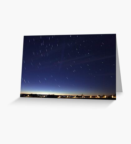 Comet Lovejoy  Greeting Card