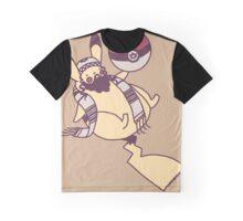 Pikajew Parody Graphic T-Shirt