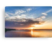 Brilliant June Sunrise - Toronto Skyline Impressions Canvas Print
