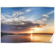 Brilliant June Sunrise - Toronto Skyline Impressions Poster