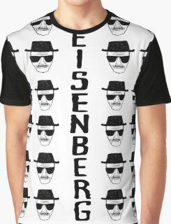 Heisenburg Multiple Faces Graphic T-Shirt