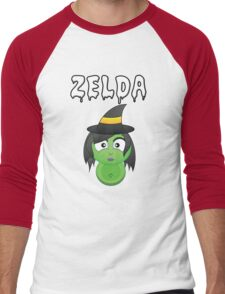 Halloween Fun Games - Zelda Men's Baseball ¾ T-Shirt