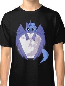 Luna wrapped around the moon Classic T-Shirt