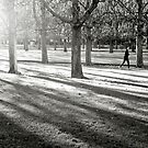 Jogging in Paris by Laurent Hunziker