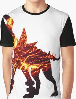 Mega Houndoom used Flamthrower Graphic T-Shirt