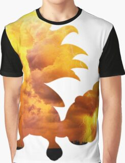 Mega Ampharos used Thunder Graphic T-Shirt