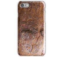 Sequoia wood up close iPhone Case/Skin