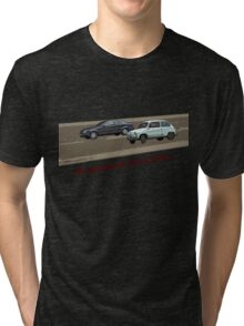 system run out of fuel Tri-blend T-Shirt