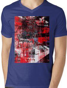 connection 4 Mens V-Neck T-Shirt