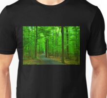 Green Trees - Impressions of Summer Forests Unisex T-Shirt