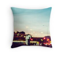 Stockholm Bokeh Throw Pillow