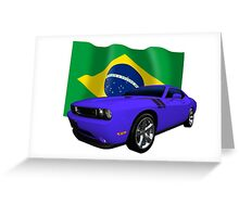 Challenger Brazil Greeting Card