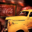 Classic CocaCola Delivery Van  by Jack DiMaio
