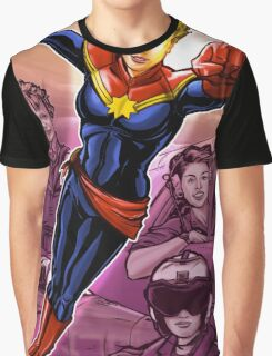 Marvelous Captain Graphic T-Shirt