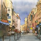 Latin Quarter, Paris by Sergei Kurbatov