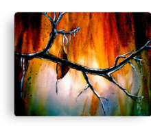The Last Leaf... Canvas Print