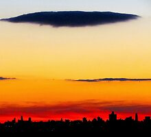 End of day, New York City by Alberto  DeJesus